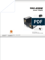 Thermaltake PurePower 430-Watt Power Supply Manual
