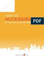BCA Accessibility Code 2013