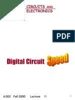 Digital Circuit Speed