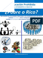 Sesiòn 1 Origen de la Pobreza y Riqueza    ¿Pobre o Rico?