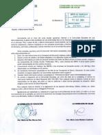 Carta de las Consejeras de Educación y Salud la Junta de Andalucía de 1 Sept. 2009 sobre la nueva gripe