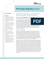 Private Equity Alert Sept 09