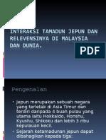 Interaksi Tamadun Jepun Dan Relevensinya Di Malaysia Dan