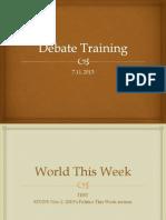 Lesson 7.Nov SSS Debate