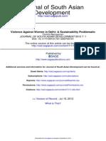Journal of South Asian Development 2012 Narayanan 1 22