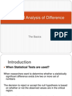 Statistical Reasoning III