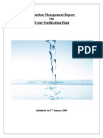 30038374 Water Purification Production Managment
