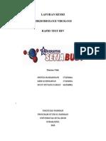 Laporan Resmi Mikvir Rapid Test Hiv