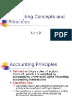 Accounting Principles,Concepts