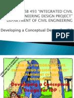 CESB 493 Development of Conceptual Design Nov 2013 PDF