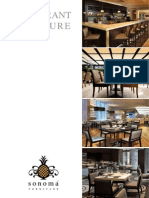 Restaurant Furniture Brochure