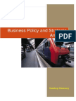 Business Policy and Strategic Analysis