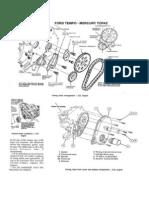 Cadena de Tiempo Motor 2.3L Ford - Mercury