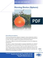 Aircraft Warning Device (Sphere)