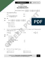 KVPY Question Paper 2011 STREAM SA