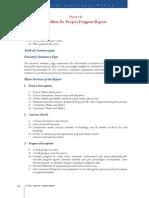 Outline of ProjectProgressReport