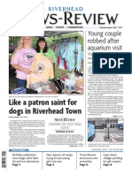 2013 Riverhead News-Review covers