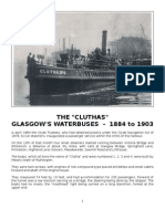 The Cluthas - Glasgow's Water Buses - 1884 to 1903