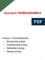 Hk II Termodinamika