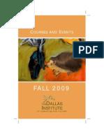 Fall 2009 Catalog