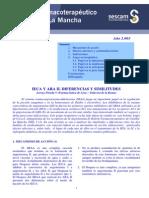 Comparacion IECA ARA