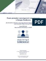 Raport is Pranie Pieniedzy i Przestepczosc Zorganizowana w Europie Srodkowej