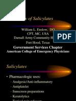 Toxicology of Aspirin