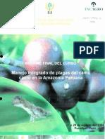 BVCI0001403_1 - Manejo Integrado de plagas del camu camu en la Amazonía Peruana