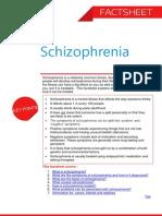 Schizophrenia Factsheet