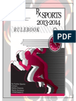 Rx Rule Book Sports 13-14 Revised