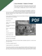 A Visit to a Slave Plantation