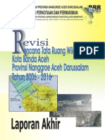 Laporan Akhir Revisi RTRW Kota Banda Aceh 2006-2016