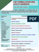 Formation Continue Formulation Des Colles Et Adhesifs