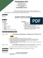 KeokodormSar Resume
