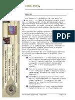 povijest biometrije