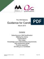 IAM Qualifications