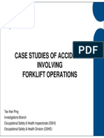 Forklift Accident Case Studies