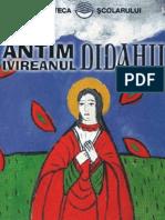 Ivireanul Antim - Didahii (Tabel Crono) Mirela Andreea Ana