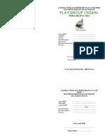 Cover Buku Raport PG Umum
