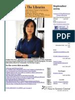 News From the Libraries - UT HSC Newsletter September 2009