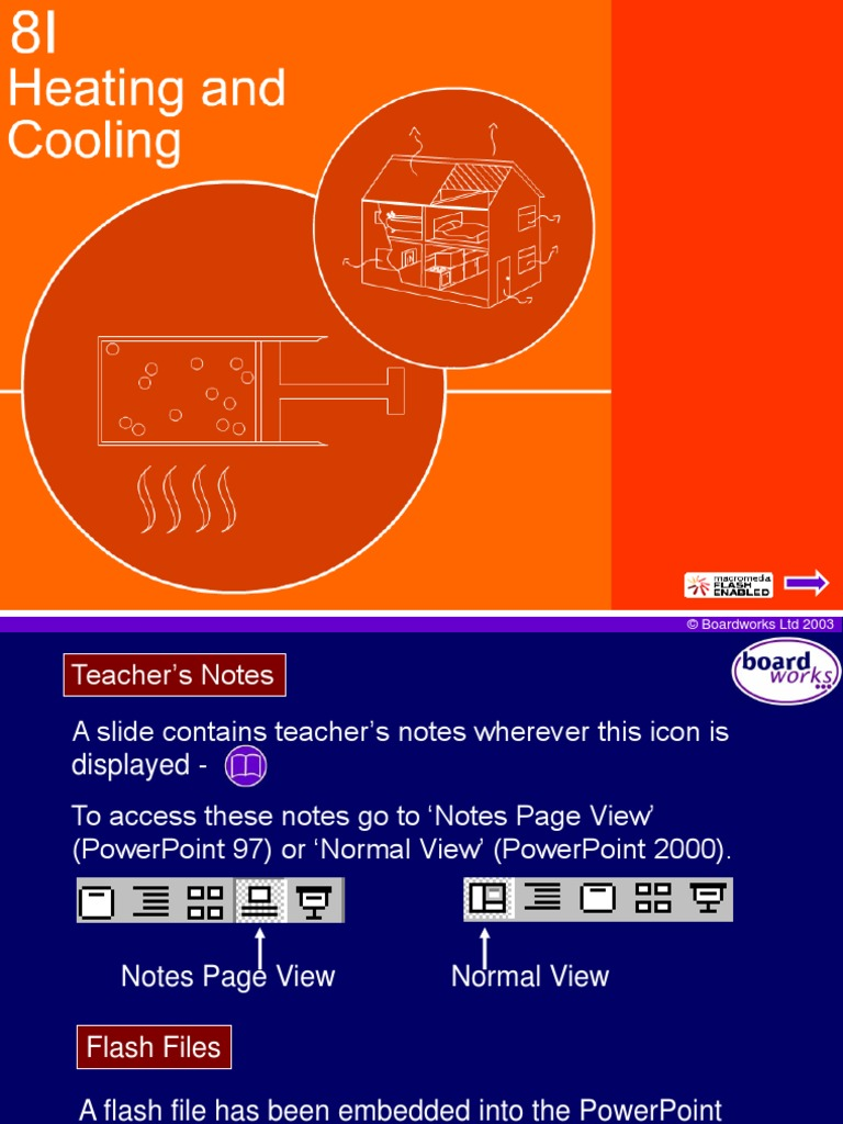 8i heating and cooling   heat transfer   heat
