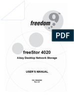 Freedom Freestor 4020 NAS Manual