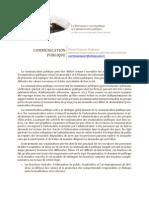 Communication Publique