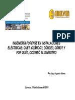 Ingenieria Forense en Instalaciones Electricas