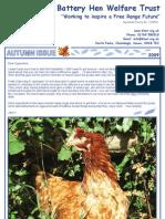 BHWT Newsletter Autumn 2009