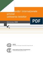 Testarea Psihologica in Organizatii