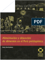 Alimentacion y Obtencion de Alimentos en El Peru Prehispanico
