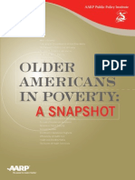Older Americans in Poverty
