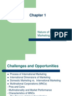 Ch01 Introduction to International Marketing