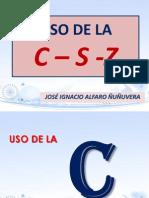 Exposicion de c s y z